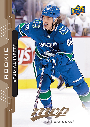 2018-19-upper-deck-nhl-hockey-rookie-card-adam-gaudette-mvp-carryover