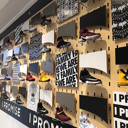 lebron-james-i-promise-school-game-worn-shoes-display-upper-deck