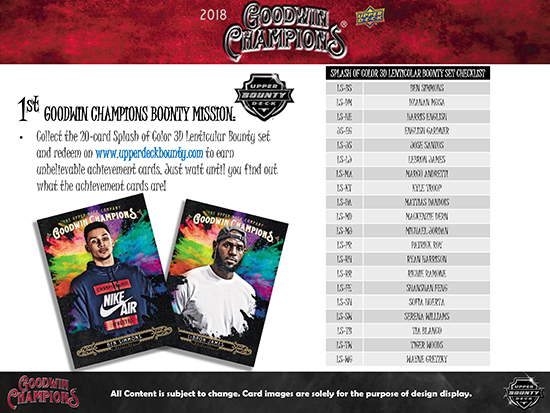 2018-Goodwin-Champions-Upper-Deck-Bounty-Program-Splash-of-Color