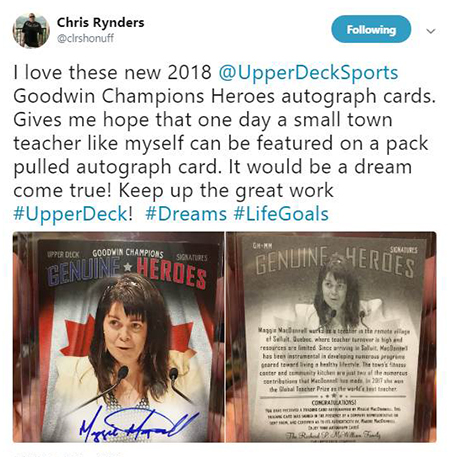 2018-upper-deck-goodwin-champions-genuine-heroes-teacher-of-the-year-maggie-autograph
