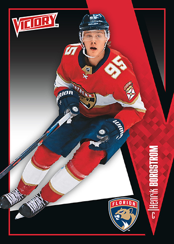 2018-Upper-Deck-Fall-Promo-Packs-Victory-Black-Rookie-Henrik-Borgstrom