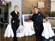 Upper Deck with the Assist: Trading Card Giant Donates Thousands of Packs of Cards to Law Enforcement for Trick or Trade Event