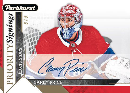 2018-upper-deck-fall-expo-parkhurst-exclusives-priority-signings-carey-price