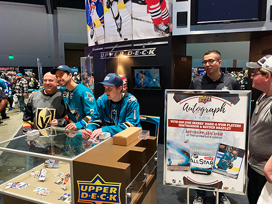2019-nhl-all-star-fan-fair-upper-deck-make-a-wish-sam-tageson-hayden-bradley-4