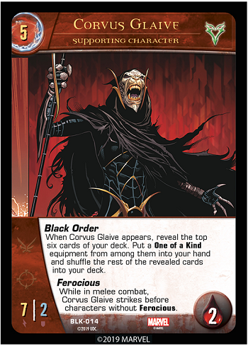 2019-upper-deck-vs-system-2pcg-marvel-black-order-supporting-character-corvus-glaive