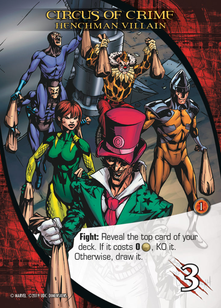 Legendary Dimensions Henchman Circus of Crime