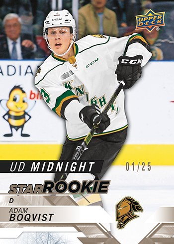2019 upper deck midnight chl cards