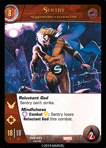 VS System 2PCG Supporting Character Sentry