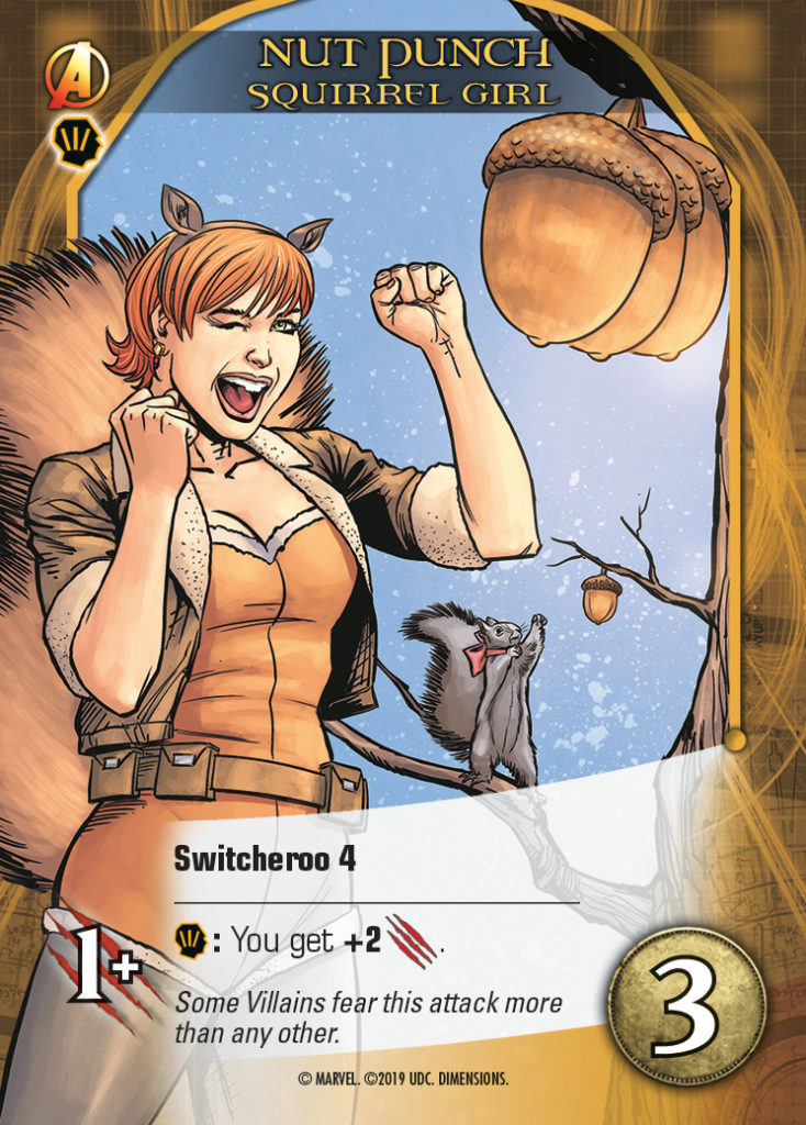 Legendary Dimensions Hero Card Squirrel Girl Common