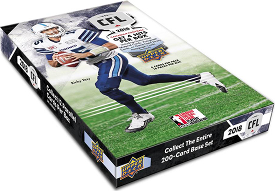 ricky ray upper deck cfl hobby box