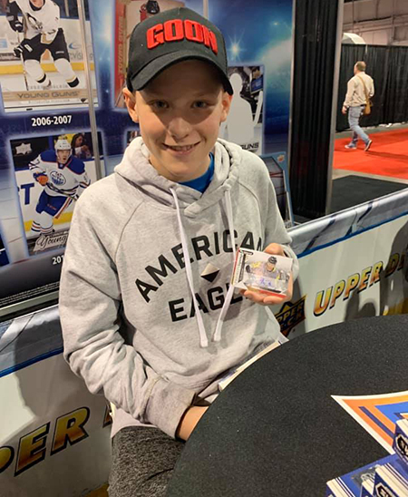 upper deck kids marketing efforts youth spring sport card memorabilia expo toronto