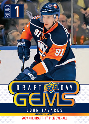 2019 upper deck nhl draft gems promotional set john tavares