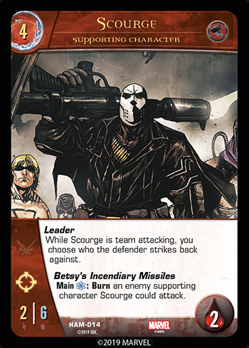 Vs System 2PCG Hammer Supporting Character Scourge