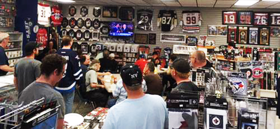 upper deck nhl draft night watch party universal distribution