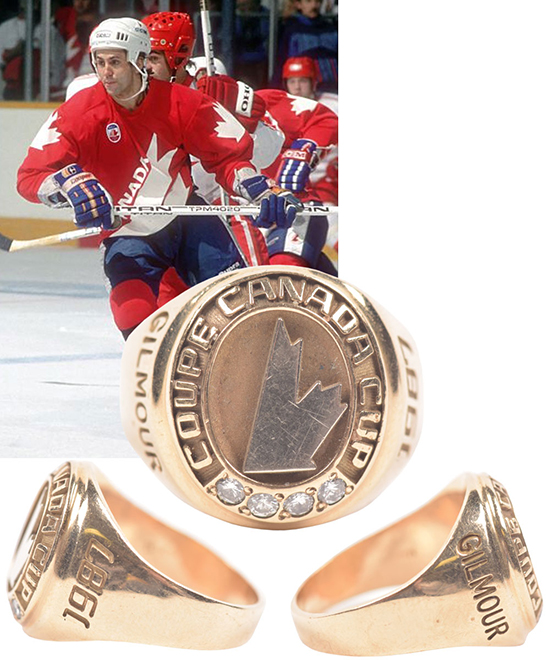 doug gilmour canada cup championship ring chronology