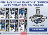 2019 NHL Upper Deck Stanley Cup Champion Set for the St. Louis Blues is Available NOW!