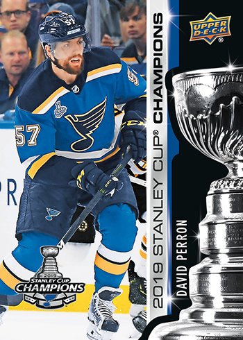 2019 upper deck st louis blues stanley cup set nhl