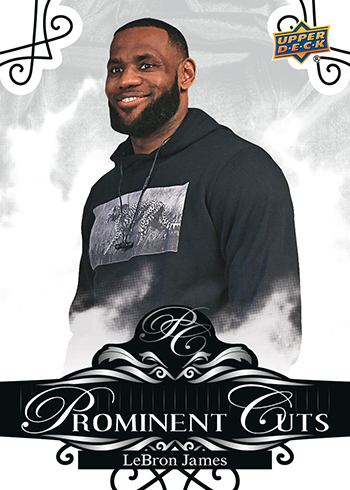 upper deck nscc prominent cuts lebron james national exclusive