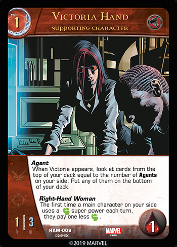 Vs System 2PCG Supporting Character Victoria Hand