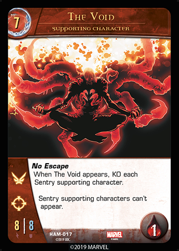 Vs System 2PCG Supporting Character The Void