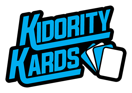 kidority kards logo upper deck kids cards donate