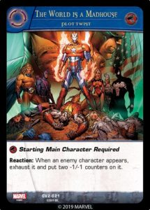 2 - 2019-upper-deck-vs-system-2pcg-marvel-crossover-volume-2-plot-twist-world-madhouse