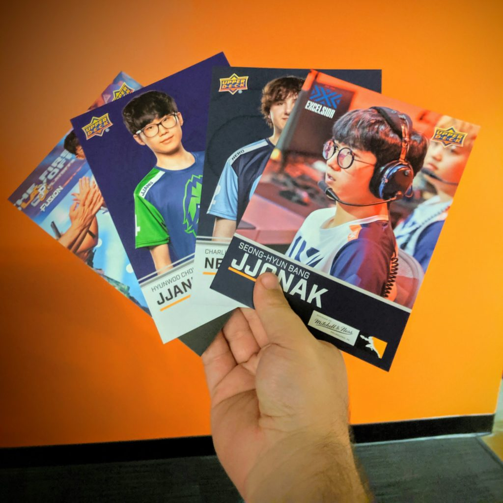 Mitchell & Ness Overwatch League 5x7 Upper Deck Signers