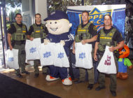 Upper Deck Donates Over 10,000 Trading Card Packs to Local Law Enforcement, Fire Departments and First Responders for Annual Halloween Trick or Trade Event!