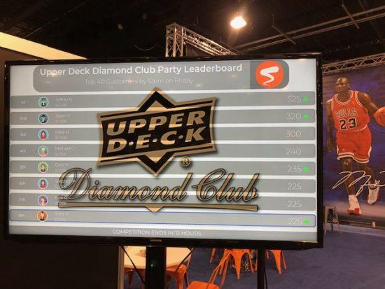 upper deck diamond club leaderboard national