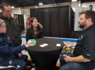 Upper Deck Creates a Memorable Customer Experience with a Young Fan at the Fall Sport Card Expo