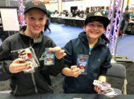 Upper Deck Engages Kids Like No Other at the Western Canada Sports Collectors Convention