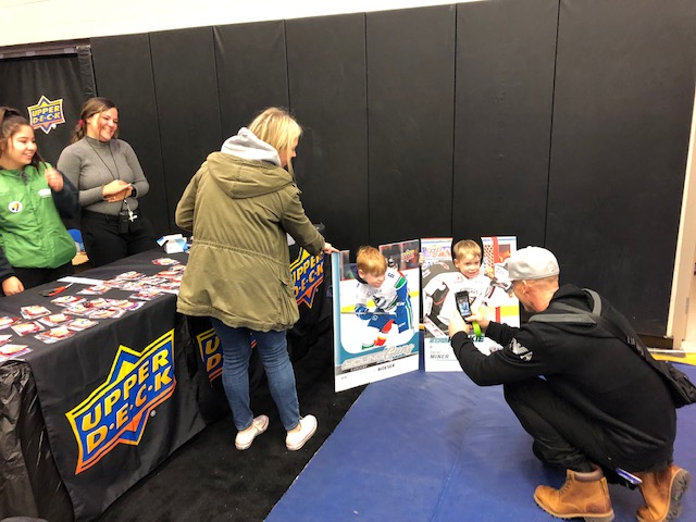 upper deck nhl hockey cards kids young collector marketing youth initiative fan engagement