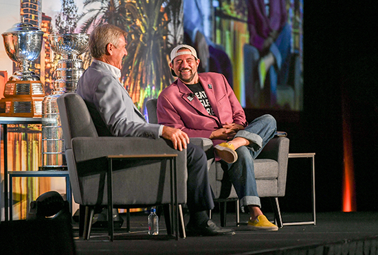upper deck cdd conference kevin smith bobby orr interview