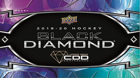 upper deck cdd conference exclusive black diamond nhl