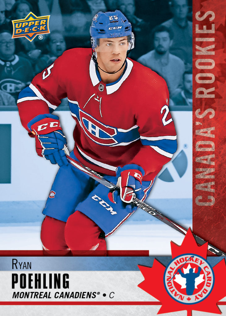 Ryan Poehling - 2020 National Hockey Card Day in Canada