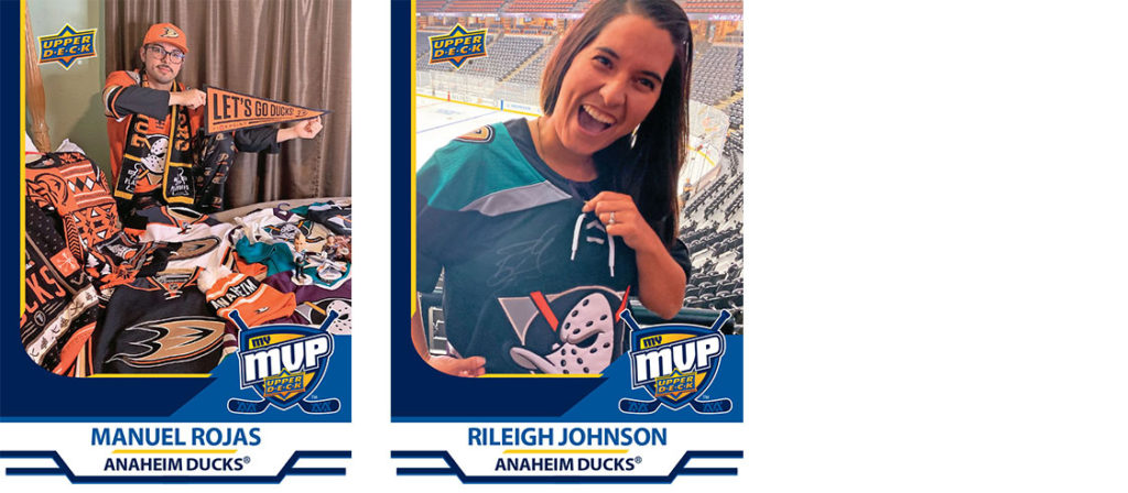 Anaheim Ducks MyMVP Team MVP Nominees