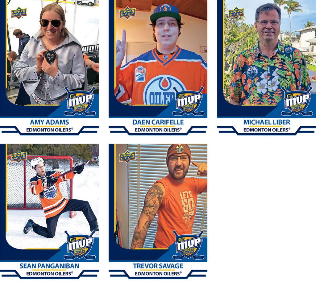 MyMVP Edmonton Oilers Team MVP Nominees